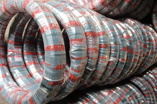 Dây thép mạ kẽm bọc nhựa PVC